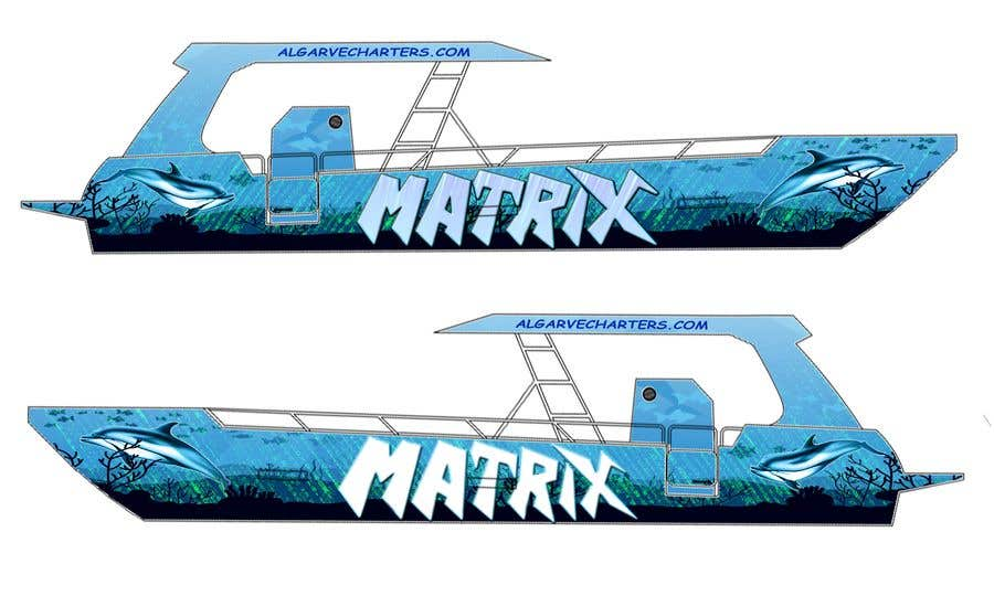 Contest Entry #27 for BOAT WRAP DESIGN!