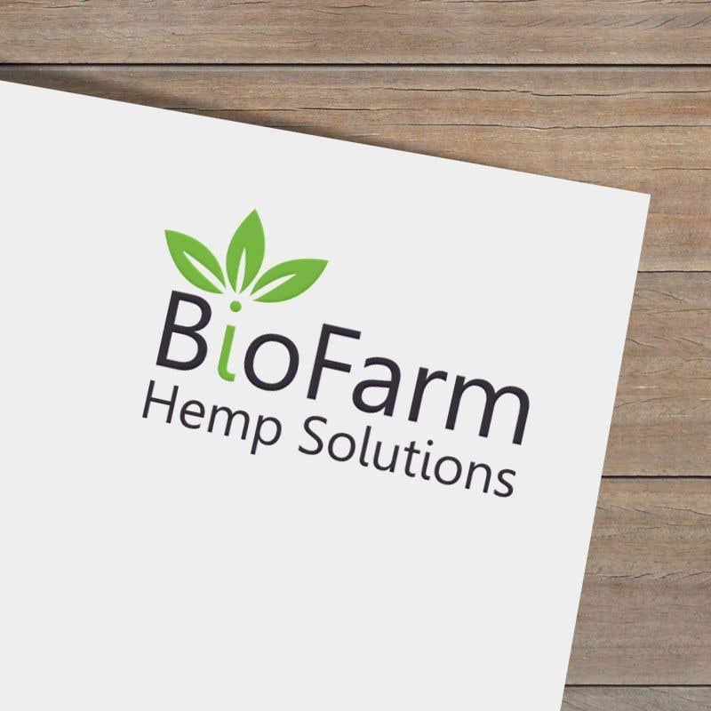 Kilpailutyö #61 kilpailussa Design a Logo - BioFarm Hemp Solutions