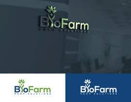 Nro 97 kilpailuun Design a Logo - BioFarm Hemp Solutions käyttäjältä Jewelrana7542