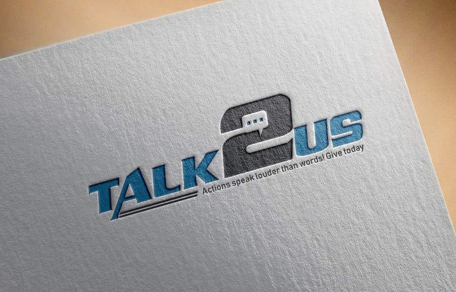 Konkurrenceindlæg #29 for Talk2Us project logo