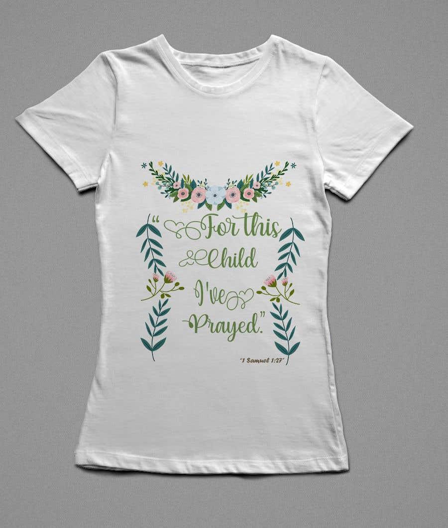 """Konkurrenceindlæg #15 for """"For This Child I've Prayed - 1 Samuel 1:27"""""""