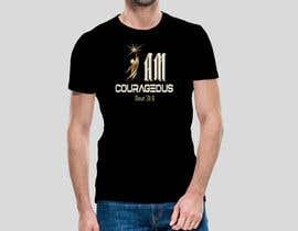 "#76 para ""I am Courageous. Deut 31:6"" - BOYS Tshirt Design por Msrohani420"