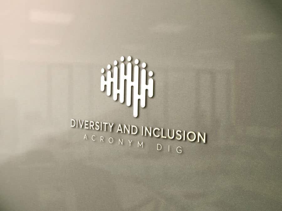 Kilpailutyö #10 kilpailussa diversity and Inclusion group logo