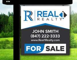 Nro 741 kilpailuun Create a Professional Real Estate Sign käyttäjältä juwel786