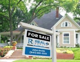 Nro 283 kilpailuun Create a Professional Real Estate Sign käyttäjältä nurallam121