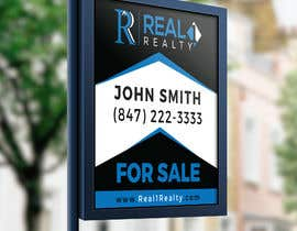 Nro 466 kilpailuun Create a Professional Real Estate Sign käyttäjältä Roronoa12