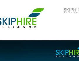 #223 para Logo Design for Skip Hire Alliance de pinky