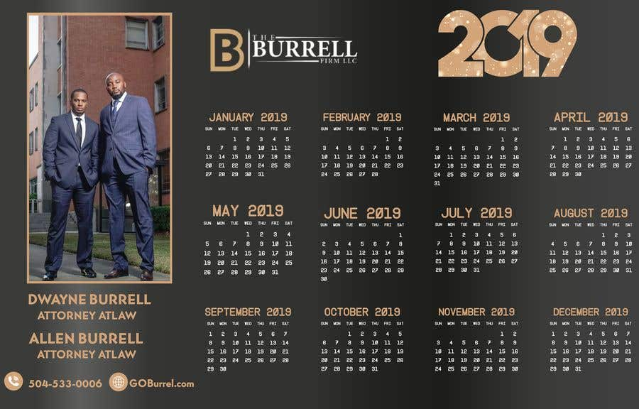 Contest Entry #21 for Build a calendar and postcard for Law Firm