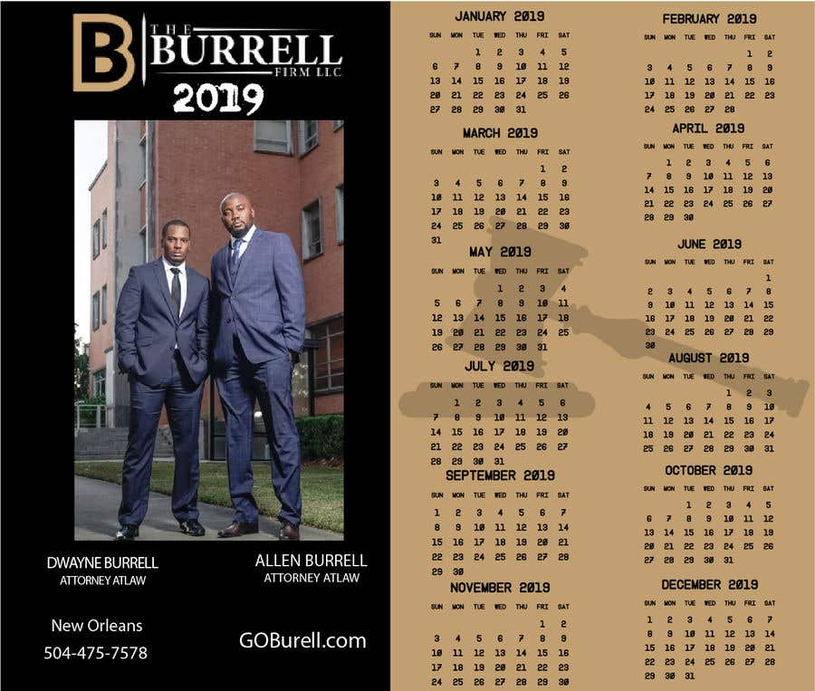 Contest Entry #5 for Build a calendar and postcard for Law Firm