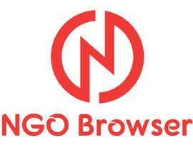 "#9 для The logo is for the company: ""NGO Browser"" it offers browser solutions for charity (non governmental organizations) as it also applies in browser extensions it should be round-see other browser logos like: Firefox, Internet Explorer, Chrome. Good luck! от beinghridoy"