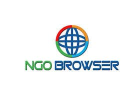 "#21 для The logo is for the company: ""NGO Browser"" it offers browser solutions for charity (non governmental organizations) as it also applies in browser extensions it should be round-see other browser logos like: Firefox, Internet Explorer, Chrome. Good luck! от sajidexpert"