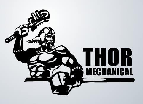 Inscrição nº                                         5                                      do Concurso para                                         Logo Design for Thor Mechanical