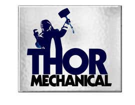 #2 para Logo Design for Thor Mechanical por niccroadniccroad