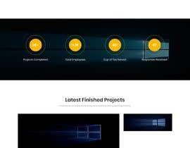 Nro 13 kilpailuun Build a corporate web site käyttäjältä VisionXTech