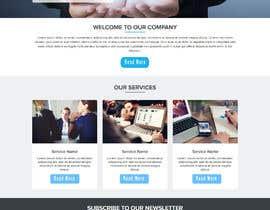 Nro 12 kilpailuun Build a corporate web site käyttäjältä Monjilalamia