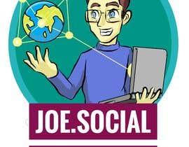 Nro 74 kilpailuun Design A Custom Cartoon Character for Joe.Social käyttäjältä zoroshin