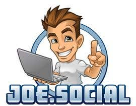Nro 58 kilpailuun Design A Custom Cartoon Character for Joe.Social käyttäjältä Rotzilla
