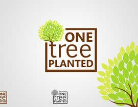 #170 para Logo Design for -  1 Tree Planted de JustLogoz