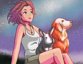 nº 15 pour Draw my friend and her pets!! par jasongcorre