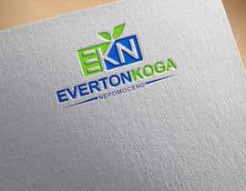 #20 for Sou nutricionista esportivo: preciso de uma logo com o meu nome: Everton Koga Nepomoceno af flyhy
