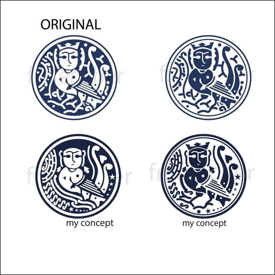 Kilpailutyö #25 kilpailussa Re-draw a logo in three variations.