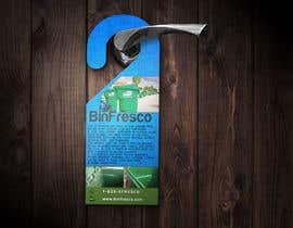 #14 untuk BinFresco Door hanger oleh EliSquared