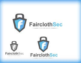 #8 para Logo Design for FairclothSec por uniqueboi91