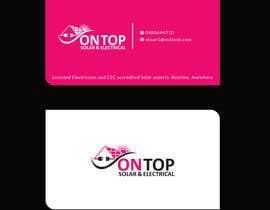 #257 untuk Design a business card using the logo uploaded oleh Uttamkumar01