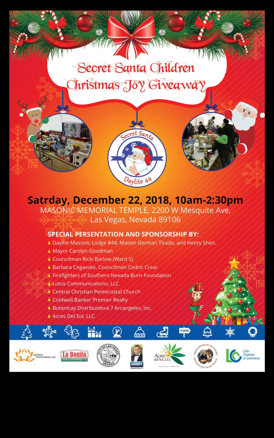 Christmas Giveaway Flyer.Entry 29 By Savitamane212 For Design Flyer For Christmas