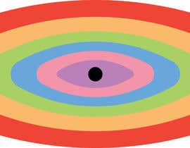 #10 для An image made by an 8 year old. It's a rainbow color eyeball.  I would like someone to  design a vector image of a similar concept of an eyeball with the same colors used in the attachment от khandelwal18ak