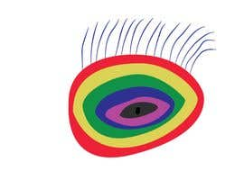 #12 для An image made by an 8 year old. It's a rainbow color eyeball.  I would like someone to  design a vector image of a similar concept of an eyeball with the same colors used in the attachment от pixelbd24
