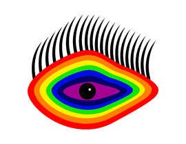 #5 для An image made by an 8 year old. It's a rainbow color eyeball.  I would like someone to  design a vector image of a similar concept of an eyeball with the same colors used in the attachment от andreschacon218