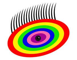 #15 для An image made by an 8 year old. It's a rainbow color eyeball.  I would like someone to  design a vector image of a similar concept of an eyeball with the same colors used in the attachment от andreschacon218