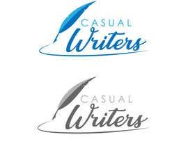 Nro 426 kilpailuun Create a logo for a writing site käyttäjältä asadmohon456
