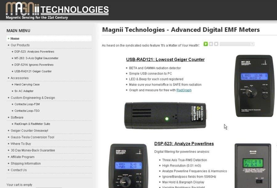 Inscrição nº 83 do Concurso para Magnii Technologies