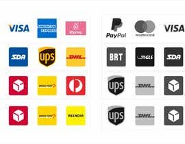 #1 cho Design icons, logos to insert in the footer of an ecommerce site bởi SZhengID