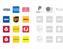 #2 cho Design icons, logos to insert in the footer of an ecommerce site bởi SZhengID