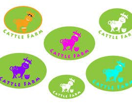 nº 25 pour Logo Design for Cattle Farm par CTLav