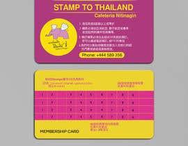 #20 , Design the Membership card for Thai Restaurant. 来自 yes321456