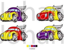 nº 17 pour Graphic Young Boys Kids Cars Five Color par JohanGart22