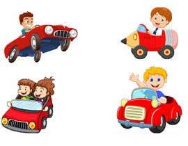 nº 6 pour Graphic Young Boys Kids Cars Five Color par mdhimadroniloy71