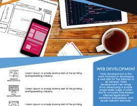 Nro 8 kilpailuun EASY WORK: Design Marketing Post cards for Web Development company käyttäjältä artmania01