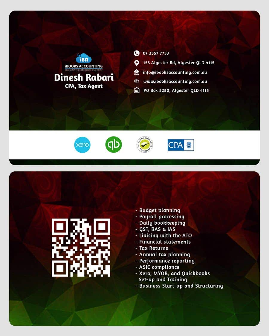 Entry #40 by dulajnadawa for Business Card Design - iBooks