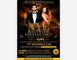 Nro 40 kilpailuun NYE Bollywood Cocktail Party (Black Tie Edition) käyttäjältä joengn