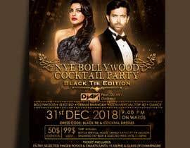 Nro 18 kilpailuun NYE Bollywood Cocktail Party (Black Tie Edition) käyttäjältä MarinaAtef96