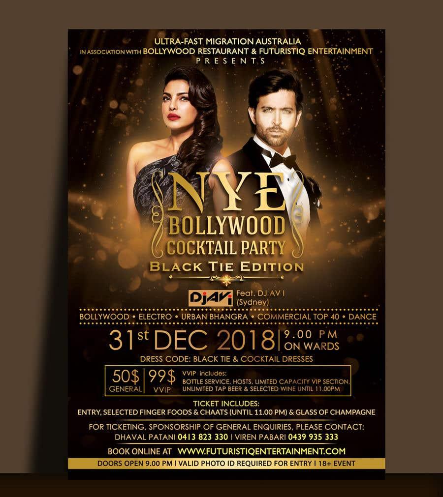Kilpailutyö #30 kilpailussa NYE Bollywood Cocktail Party (Black Tie Edition)