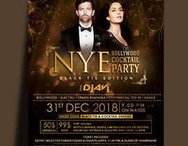 Nro 50 kilpailuun NYE Bollywood Cocktail Party (Black Tie Edition) käyttäjältä MarinaAtef96