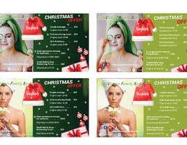 #55 para Design a Christmas seasonal promotional banner ad for a spa por mihaelachiuariu