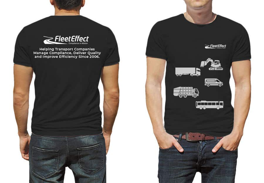 entry 59 by jzanardi for design for t shirt mockup provided