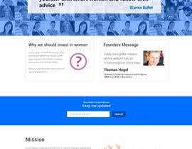 #14 cho 2 page website, design & WP programming, investing-in-women.com bởi kethketh